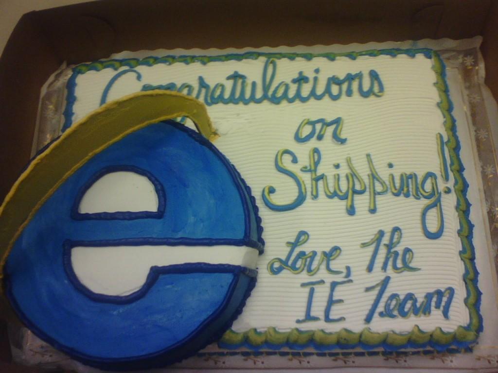 Internet Explorer felicita a Firefox - Guerra de navegadores